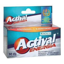 Béres actival energia filmtabletta 30 db