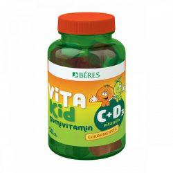 Béres vitakid c+d gumivitamin gumitabletta 50 db