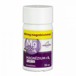 Béres magnézium 400mg+B6 -vitamin forte tabletta 50 db