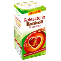 Béres koleszterin kontroll 1500 mg filmtabletta 60 db