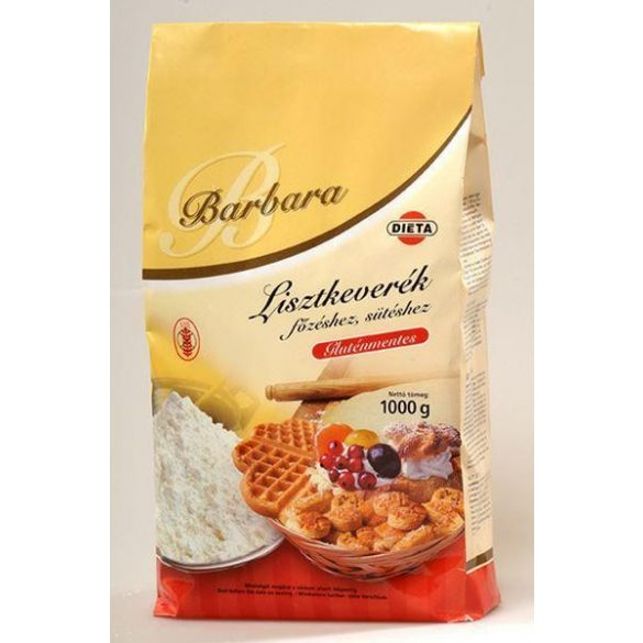 Barbara gluténmentes lisztkeverék főzéshez 1000 g