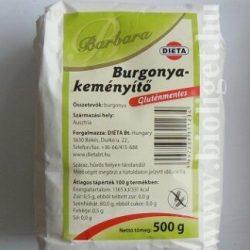 Barbara gluténmentes burgonyakeményítő 500 g