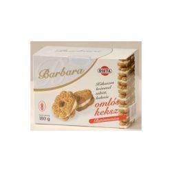 Barbara gluténmentes kókuszkrémmel töltött omlós keksz 160 g
