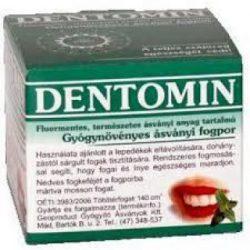 Dentomin fogpor gyógynövényes 95 g