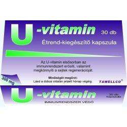 U-vitamin kapszula 30 db
