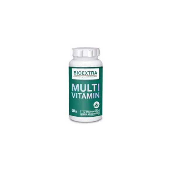 Bioextra multivitamin étrendkiegészítő filmtabletta 60 db