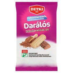 Detki cukorm.darálós vaníliás és kakaós omlós keksz 180 g
