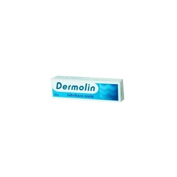 Dermolin lubrikáns zselé 20 g
