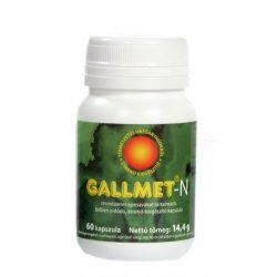 Gallmet-N-60 gyógynövény kapszula 60 db