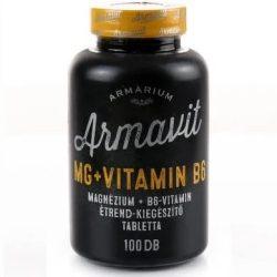 Armárium armavit magnézium+b6 vitamin étrend-kiegészítő tabletta 100 db