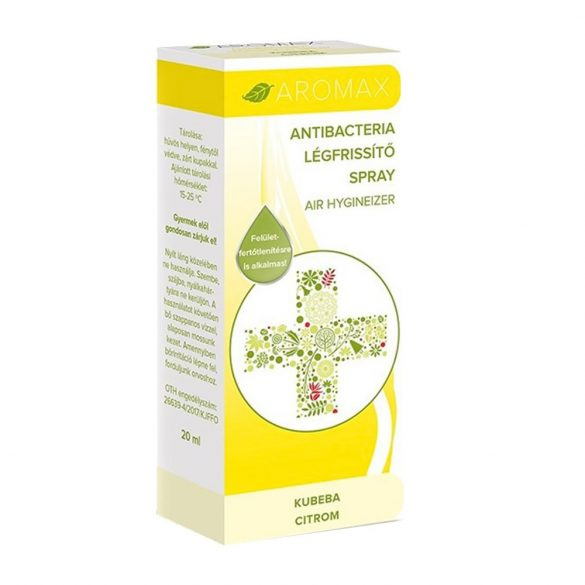 Aromax légfrissítő spray kubeba-citrom 20 ml