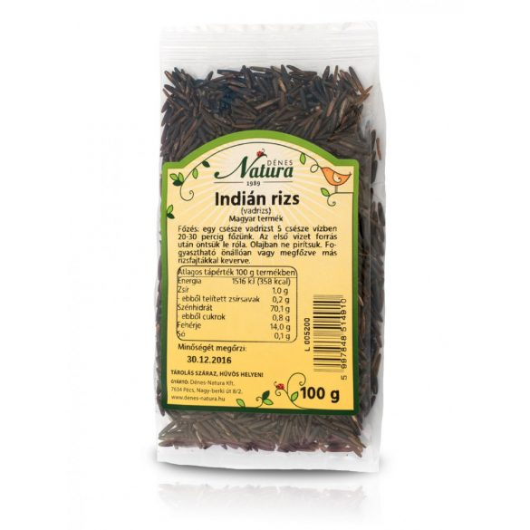 Natura vadrizs indián rizs 100 g