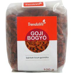 TRENDAVIT GOJI BOGYÓ (LÍCIUM) 100 G