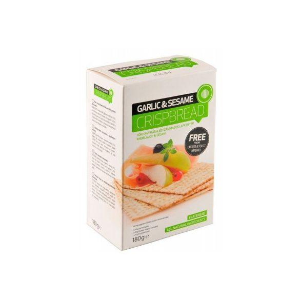 Nébar Crispme Crispbread lapkenyér fokhagymás-szezámos 180 g