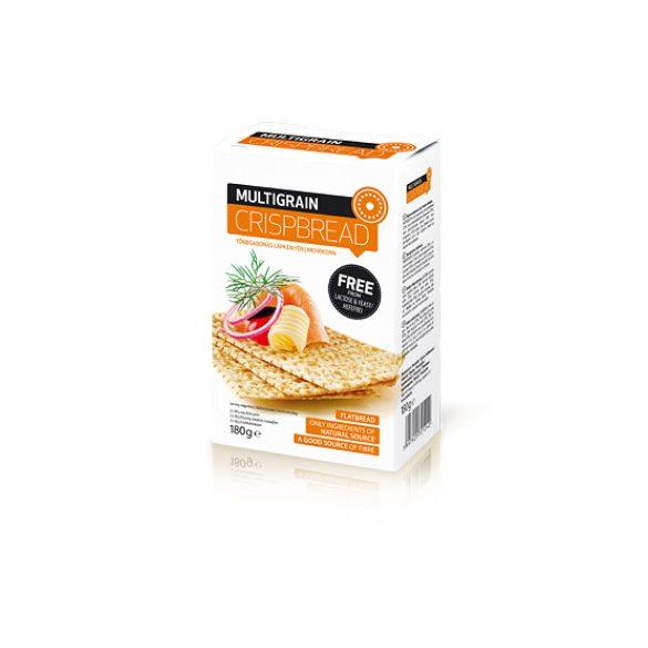 Nébar Crispme Crispbread lapkenyér többgabonás 180 g