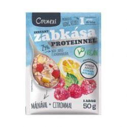 Cornexi málnás-citromos protein zabkása édesítőszerrel, vegán 50g