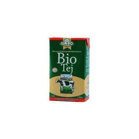 Zöldfarm bio tej 2.8 % uht /tartós/ 1000 ml