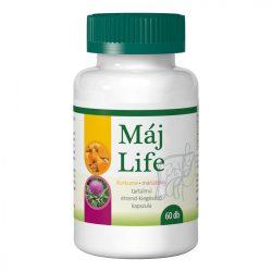 Zöldvér máj life kurkuma+máriatövis kapszula 60 db