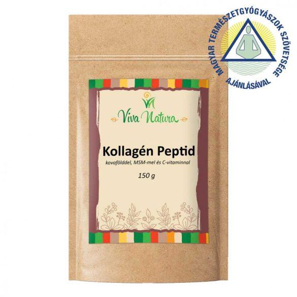 Viva natura kollagén peptid (c-vitaminnal, kovafölddel, msm-mel) 150 g