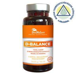 Bestnature d-balance étrendkiegészítő kapszula 90 db