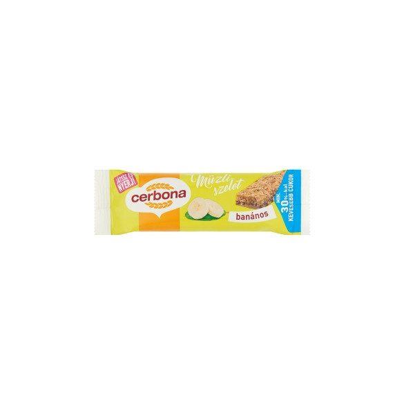 Cerbona szelet banános 20 g