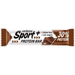 Cerbona sport+ protein szelet dupla csokis 50 g