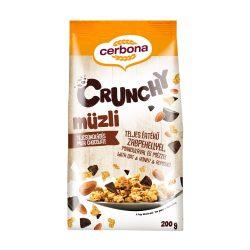 Cerbona tejcsokoládés crunchy ropogós müzli 200 g