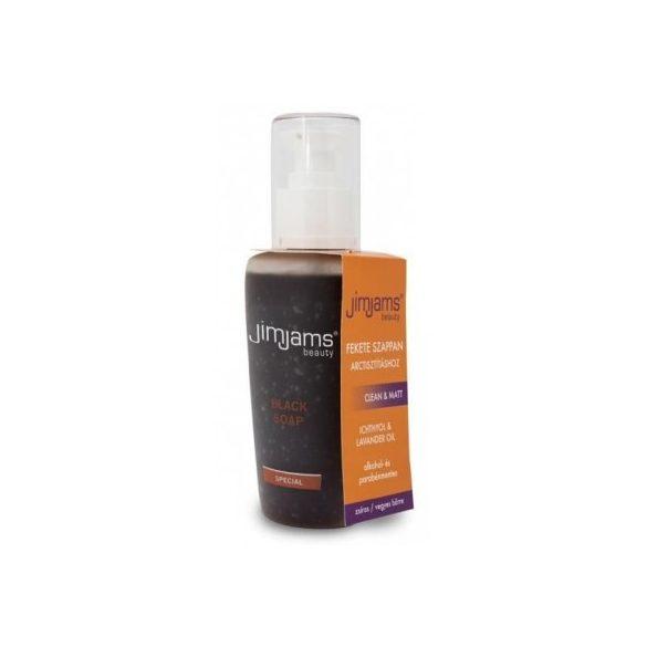 Jimjams beauty clean & matt fekete szappan 125 ml