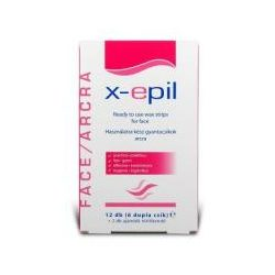 X-Epil hideg arcgyantázó csík 12 db