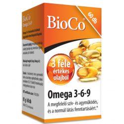 Bioco omega 3-6-9 kapszula 60 db