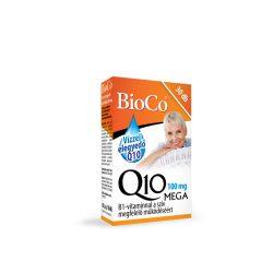 Bioco q10 100mg mega kapszula vízzel elegyedő 30 db