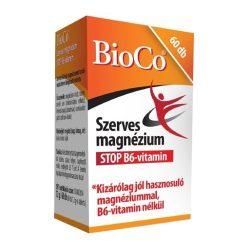 Bioco szerves magnézium stop b6-vitamin tabletta 60 db