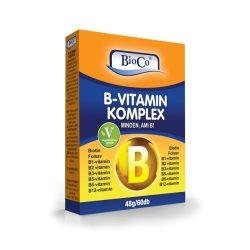 Bioco b-vitamin komplex tabletta 90 db