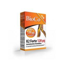 Bioco k2 vitamin forte tabletta 60 db