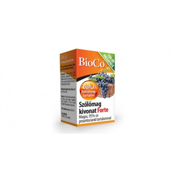 Bioco szőlőmag forte tabletta 100 db