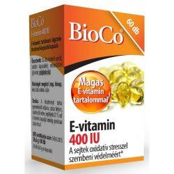BIOCO E-VITAMIN KAPSZULA 400 IU 60 db