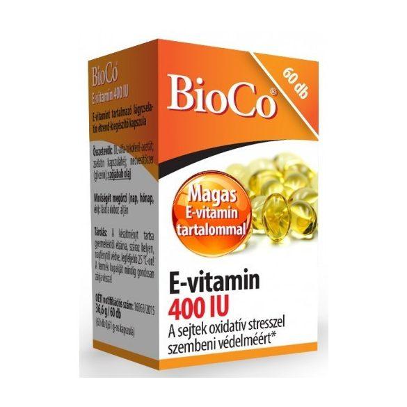 Bioco e-vitamin 400 iu 60db kapszula 60 db