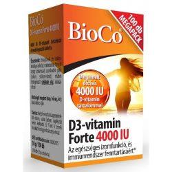 Bioco d3-vitamin forte 4000iu tabletta 100 db