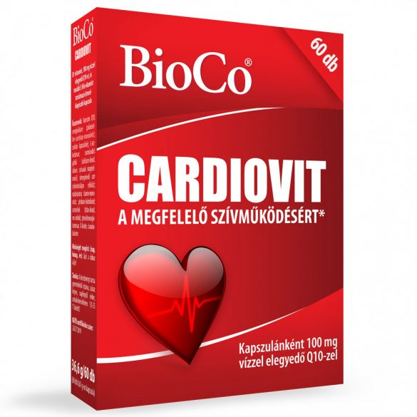 BIOCO CARDIOVIT 100MG Q10 KAPSZULA 60 db