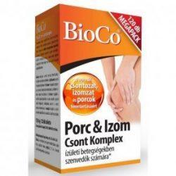 Bioco porc&izom csont komplex kondroitinnel 120 db