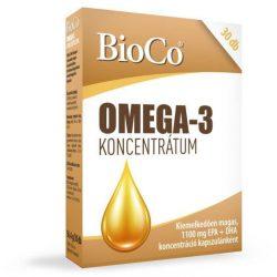 Bioco omega-3 koncentrátum 30 db