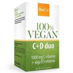 Bioco vegan c+d duo tabletta 90 db