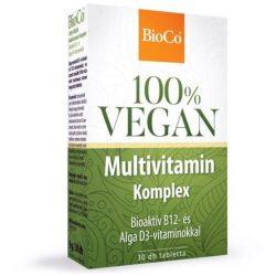 Bioco vegan multivitamin komplex tabletta 30 db