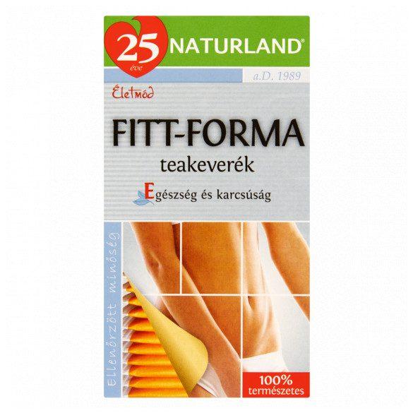 NATURLAND FITT-FORMA TEA 20 FILTERES