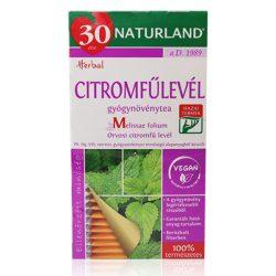 Naturland citromfűlevél tea 25x1g 25 g