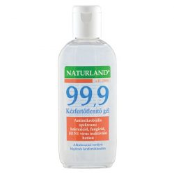 Naturland 99,9 Kézfertőtlenítő Gél  100 ml