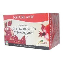 Naturland gyümölcstea gránátalma-csipke 20x2g 40 g