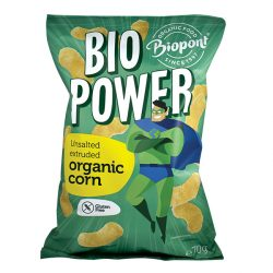 Biopont bio power extrudált bio kukorica sótlan gluténmentes 70 g