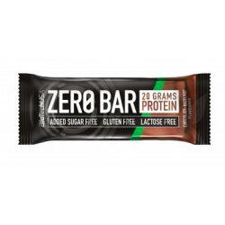 Biotech zero bar csokoládé-mogyoró 50 g