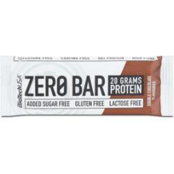 Biotech zero bar dupla csokoládé 50 g